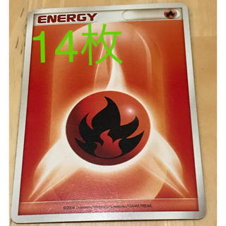 ポケモン(ポケモン)のポケモンカード 炎エネルギー(カード)