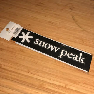 スノーピーク(Snow Peak)のスノーピーク ステッカー 小 正規品 NV005(登山用品)