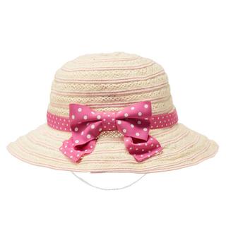 mikihouse - ミキハウス 綿レースサマーハット 帽子