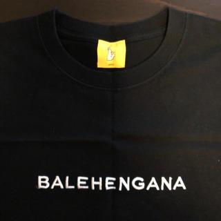 ヴァンキッシュ(VANQUISH)のBALEHENGANA バレヘンガナ Tシャツ 黒 Lサイズ 未使用(Tシャツ/カットソー(半袖/袖なし))