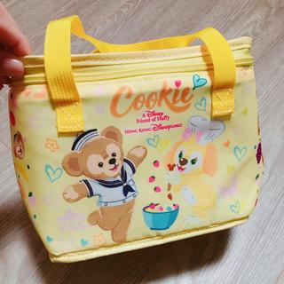 ダッフィー(ダッフィー)のラスト1点!新品 香港ディズニー ダッフィー クッキー 保冷バッグ(弁当用品)