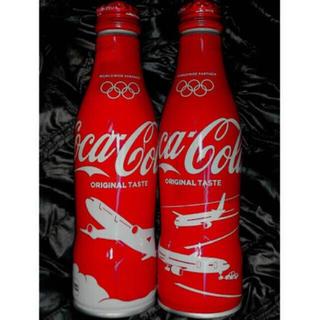 コカコーラ(コカ・コーラ)のJAL 東京オリンピック 1000日前 限定デザイン(ノベルティグッズ)