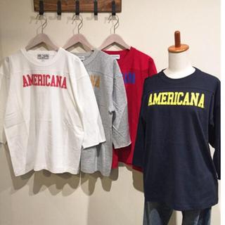 DEUXIEME CLASSE - Americanaロゴ T