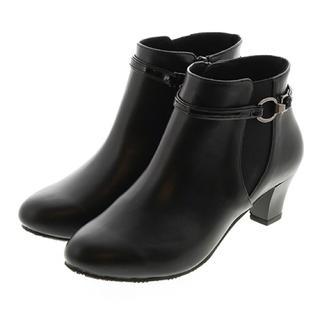 ジェリービーンズ(JELLY BEANS)のジェリービーンズ サイドゴア2way ベルトレインブーツ サイズS 晴雨兼用(ブーツ)