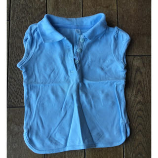 ユニクロ(UNIQLO)のユニクロ  ポロシャツ  95 女の子(Tシャツ/カットソー)