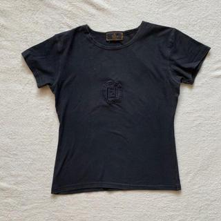 フェンディ(FENDI)のFendi Tシャツ 黒(Tシャツ(半袖/袖なし))