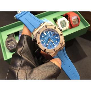 AUDEMARS PIGUET - 42mm AUDEMARS PIGUET オーデマピゲ 自動巻き 腕時計 人気