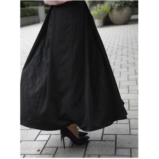 eimy istoire - エイミーイストワール レースボリュームスカート ブラック M