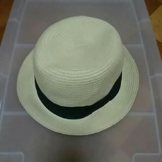 イング(INGNI)の新品 日除け帽子 女優帽 日除け つば広帽子 UVカット ライフガード 野外(麦わら帽子/ストローハット)