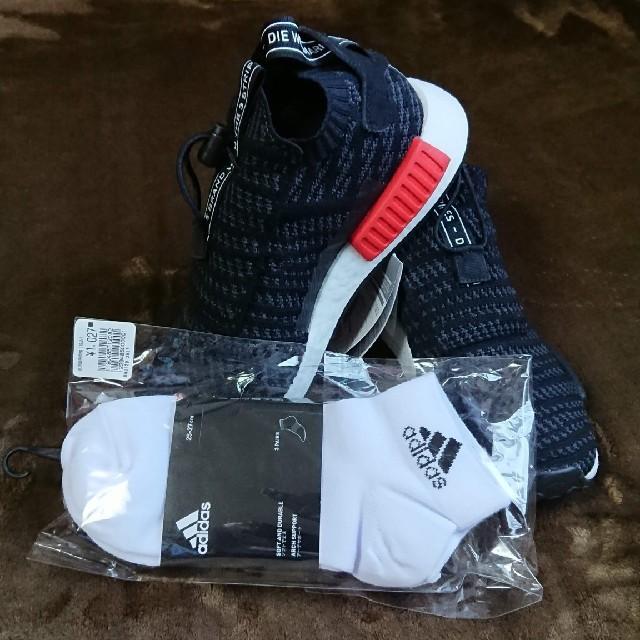 adidas(アディダス)のadidas originals スニーカー26cm ソックス『3足付き』 その他のその他(その他)の商品写真