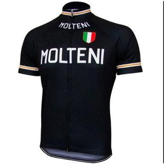 レプリカ MOLTENI フルジップ 半袖 サイクリングジャージ