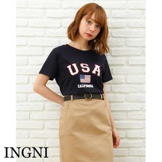 INGNI - 値下げ‼️INGNI USAロゴTシャツ