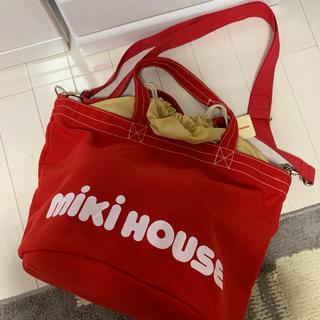 mikihouse - ミキハウスのエコバッグ、ママバック