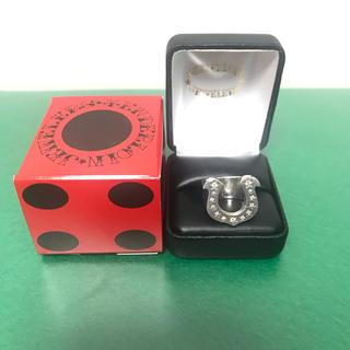 テンダーロイン(TENDERLOIN)のテンダーロイン ホースシューリング ダイヤ有 6.5号(リング(指輪))