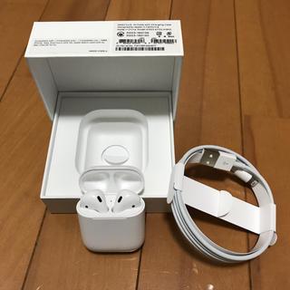 Apple - ★美品★Apple airpods 【正規品】