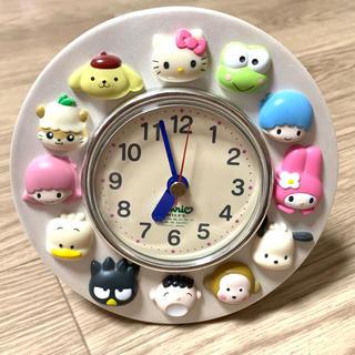 サンリオ(サンリオ)のサンリオ オールスター置き時計 【非売品】(置時計)