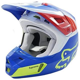 シュプリーム(Supreme)のsupreme  fox racing v2 helmet 黒 日本未発売(ヘルメット/シールド)