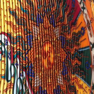 エルメス(Hermes)のエルメス プリーツスカーフ(バンダナ/スカーフ)