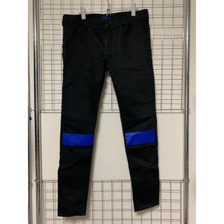 UNDERCOVER - 16SSアンダーカバーUNDERCOVERニーライン青パンツ