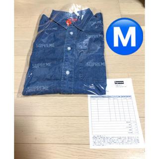 シュプリーム(Supreme)のSupreme 19ss  Logo Denim Shirt (Gジャン/デニムジャケット)