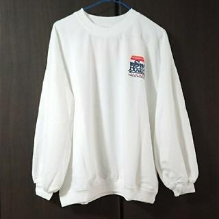 ☆残り1名☆可愛いスウェット シャツ オーバーサイズ  (トレーナー/スウェット)