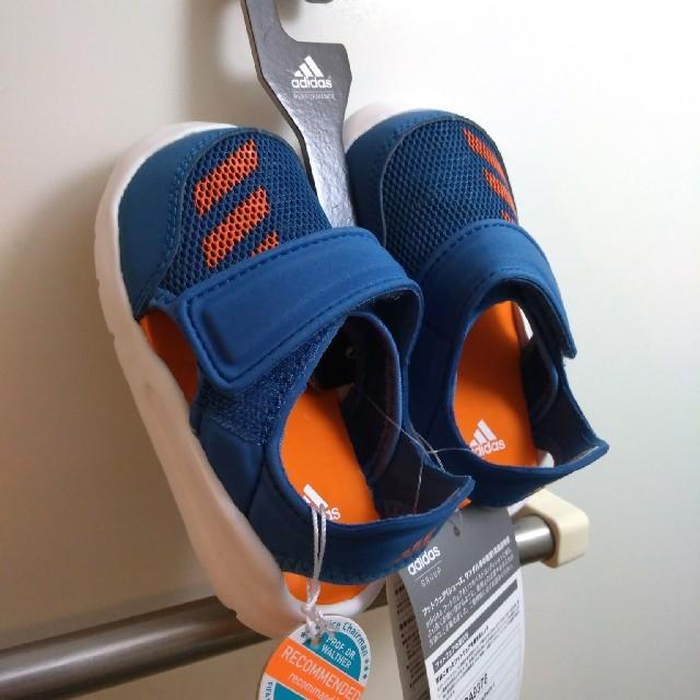 adidas(アディダス)のadidas キッズサンダル キッズ/ベビー/マタニティのベビー靴/シューズ(~14cm)(サンダル)の商品写真