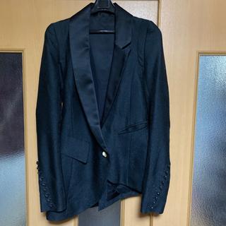 ルグランブルー(LGB)のifsixwasnine ブラックジャガー ジャケット イフシックスワズナイン (テーラードジャケット)