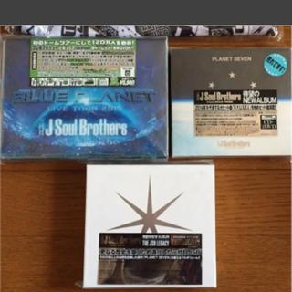サンダイメジェイソウルブラザーズ(三代目 J Soul Brothers)の三代目JSB アルバム DVD(ミュージック)