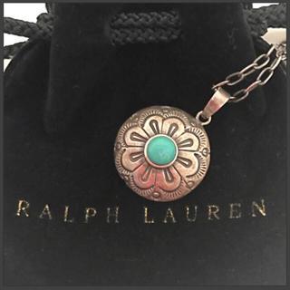 ラルフローレン(Ralph Lauren)のラルフローレン RALPH LAUREN ターコイズ ネックレス(ネックレス)