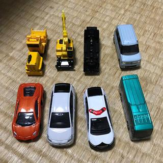 Takara Tomy - トミカ8台セット+2台(問題あり)+チョロQ1台+ドラクエのゴーレム