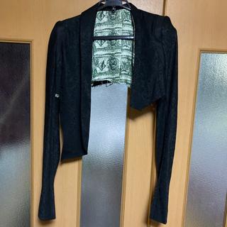 ルグランブルー(LGB)の新品 ifsixwasnine レオパード エスカルゴ ボレロ ジャケット(テーラードジャケット)