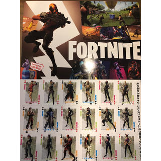 ショウガクカン(小学館)のコロコロコミック 付録 FORTNITE 2点 セット フォートナイト(キャラクターグッズ)