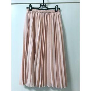 GU - GU レディース プリーツスカート ピンク