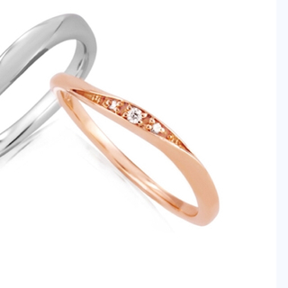 4℃ - 新品未使用 canal4°C k10 ダイヤ 11号 リング  ✨ 指輪