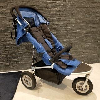 エアバギー(AIRBUGGY)のエアバギー AirBuggy mimi ミミ ブルー 青 Air Buggy(ベビーカー/バギー)