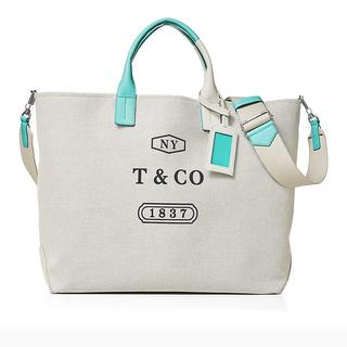 ティファニー(Tiffany & Co.)のティファニー キャンパス バッグ(トートバッグ)
