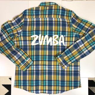 ズンバ(Zumba)のZUMBA人気長袖チェックシャツ(トレーニング用品)