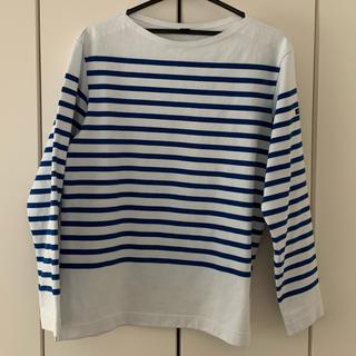 ヘリーハンセン(HELLY HANSEN)のロングスリーブボーダーボートネック(Tシャツ/カットソー(七分/長袖))