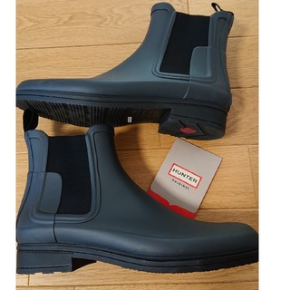 ハンター(HUNTER)のハンターのメンズブーツ レインシューズ 27センチ(美品)(長靴/レインシューズ)