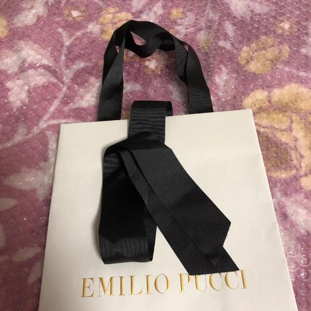 EMILIO PUCCI(エミリオプッチ)のエミリオプッチ  ショップ袋 美品 レディースのバッグ(ショップ袋)の商品写真