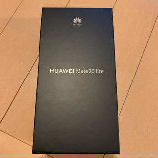 ANDROID - Huawei mate20 lite ブラック
