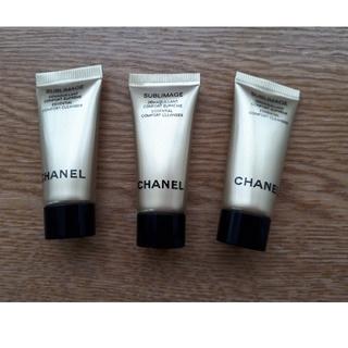 シャネル(CHANEL)のCHANELメークアップリバーバー3本セット(化粧下地)