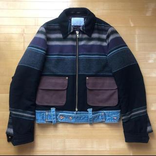 kolor - kolor 17aw jacket