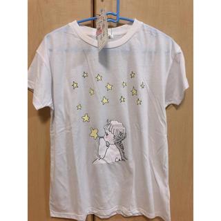 シマムラ(しまむら)のしまむら Caho コラボ Tシャツ 星 ホワイト(Tシャツ(半袖/袖なし))