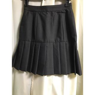 ヴィヴィアンウエストウッド(Vivienne Westwood)のVivienne Westwood ヴィヴィアン茶系ストライプのプリーツスカート(ミニスカート)