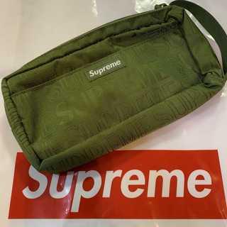 シュプリーム(Supreme)のSupreme 19SS Organizer Pouch 深緑(セカンドバッグ/クラッチバッグ)