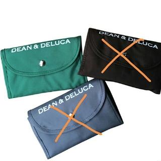 ディーンアンドデルーカ(DEAN & DELUCA)の【新品 未使用】DEAN&DELUCA  エコバッグ グリーン 折りたたみバッグ(エコバッグ)