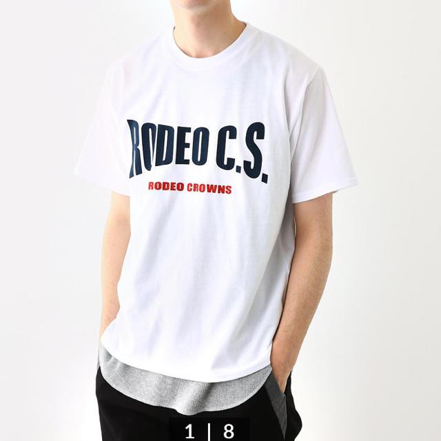 RODEO CROWNS WIDE BOWL(ロデオクラウンズワイドボウル)のRCWB☆メンズロゴT メンズのトップス(Tシャツ/カットソー(半袖/袖なし))の商品写真