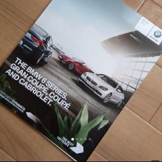 ビーエムダブリュー(BMW)のBMW 6Series グランクーペ カブリオレ カタログ  現在入手不可能(カタログ/マニュアル)