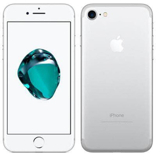 NTTdocomo - iPhone7 128ギガ docomo シルバー